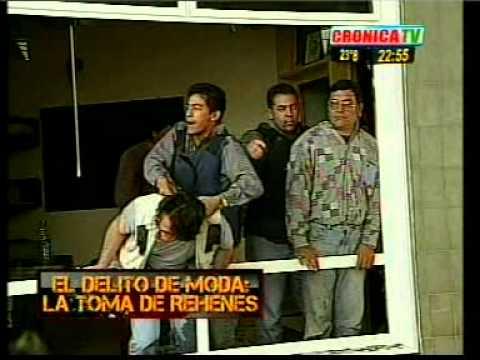 TOMA DE REHENES EL G.E.O.F. PONE ORDEN