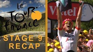 Tour de France 2018: Stage 9 Recap I NBC Sports