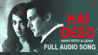 Hai Deed (Full Audio Song) | Rahat Fateh Ali Khan | Punjabi Song Collection | Speed Records