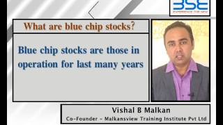 Know what is blue chip stocks