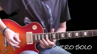 Slash Lesson - November Rain 3 Solos (Slow Lesson)