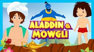Aladdin and Mowgli Kids Stories - Animated Stories For Kids || Kids Hut Storytelling