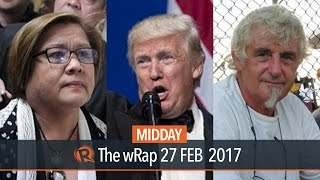 De Lima, German hostage, Trump | Midday wRap