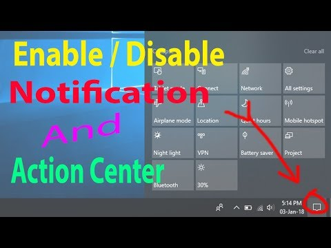 Xxx Mp4 How To Enable Or Disable Action Center In Windows 10 In Hindi 3gp Sex