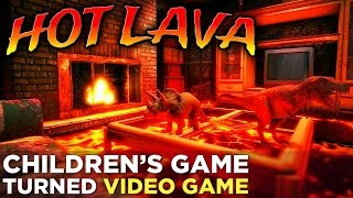 Hot Lava: GAMEPLAY! Your Favorite Childhood Game is Coming to PC