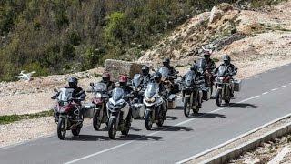 Prova Comparativa di Motociclismo: 9 Globetrotter 2016 in Albania