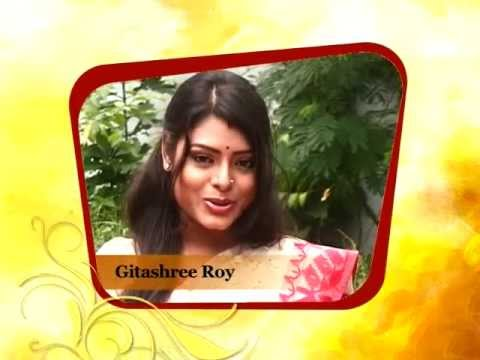 Popular actress Gitashree Roy expresses her excitement about Large Durga Puja, 2013