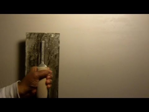How to Smooth Out Uneven Plaster With a Skim Coat
