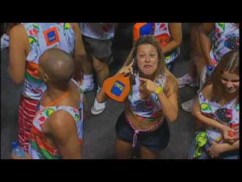 Carnaval 2010 Camera flagra escapadinha de namorada
