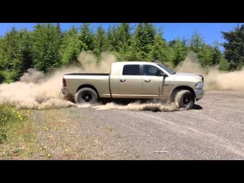 2011 Dodge Ram 6.7 Cummins MBRP exhaust full 5 inch off road Diesel 4x4