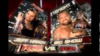 WWE Raw (2-10-06) Full Match Card