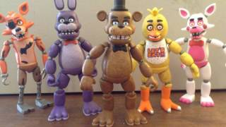 FNaF 4 Song (TryHardNinja) - Stopmotion Animation PREVIEW
