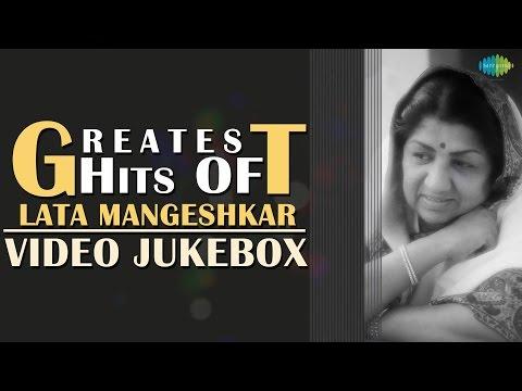 Greatest Hits Of Lata Mangeshkar | Hindi Movie Video Songs Jukebox | Old Bollywood Songs