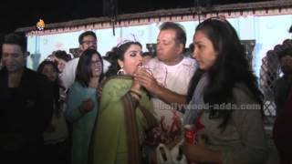 Amrpali Dube - Celebrate Birthday Party - CAKE Cutting - Nirahua - Dinesh Lal Yadav