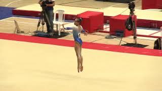 Morgan Hurd - Floor Exercise - Team/AA - 2018 Pacific Rim Championships