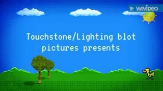 Touchstone/Lighting blot/Nickelodeon movies/We video logo