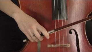 Basic Bowing on the Cello