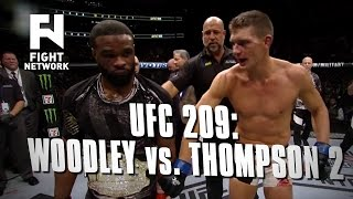 UFC 209: Tyron Woodley vs. Stephen Thompson Rematch for Welterweight Title