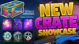 NEW 'TOTALLY AWESOME' CRATE SHOWCASE ON ROCKET LEAGUE (Radical Summer Event Crate)