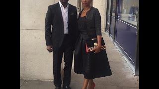 Nse Ikpe Etim And Hubby Attend The Premiere Of FIFTY At London Film Festival