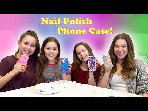 Xxx Mp4 DIY Nail Polish Phone Case Haschak Sisters 3gp Sex