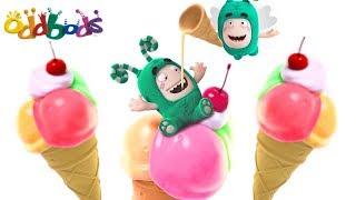 LOVE FOR ICE CREAM | Oddbods Show Full Episodes | Funny Cartoons