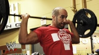Check out Cesaro's insane workout routine