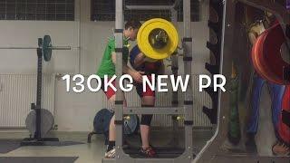 New squat max 2017 Powerlifting progress