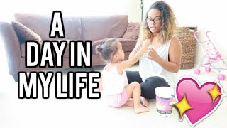 SINGLE MOM! A day in my life
