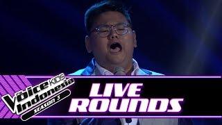 "Niko ""Say Something"" | Live Rounds | The Voice Kids Indonesia Season 3 GTV"