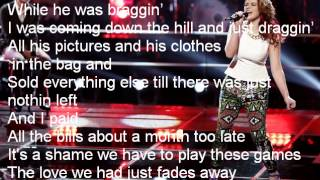 Reagan James-Hit 'Em Up Style (Oops!)-The Voice 7[Lyrics]