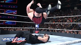 Samoa Joe is relentless in his fight with Roman Reigns: WWE Backlash 2018 (WWE Network Exclusive)