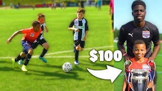 I FOUND THE 9 YEAR OLD KID RONALDO AT A FOOTBALL COMPETITION!! UNBELIEVABLE SKILLS