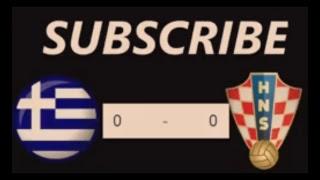 Greece vs Croatia live