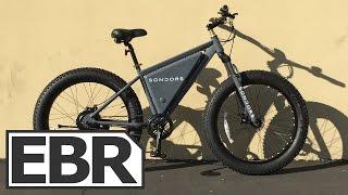 Sondors Fat Bike Video Review - V2 From Kickstarter