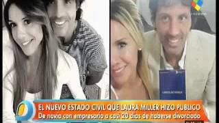 El bullying de Jorge Rial a Laura Miller por su nuevo novio