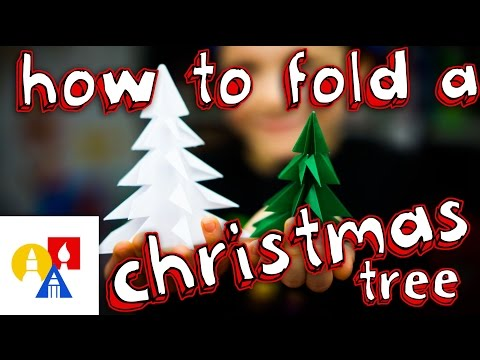 How To Fold An Origami Christmas Tree