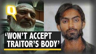 The Quint| Suspected Terrorist's Father Refuses to Accept Slain Son's Body