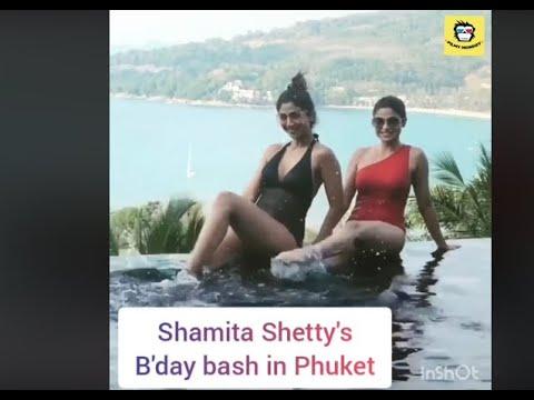 Xxx Mp4 Shilpa Shetty Celebrates Sister Shamita Shetty S 40th Birthday In Phuket With Hubby Raj Ku 3gp Sex