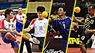 Sepak Takraw ● Best Spikes Compilation by Feeders | HD