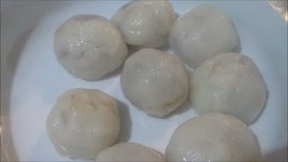 HOW TO MAKE MASI or PEANUTS and BROWN SUGAR RICE BALLS