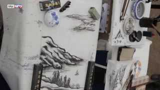 Landscape Artist of the Year Time Lapse   Chi Zhang