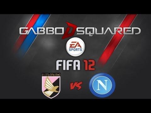 FIFA 12   Palermo - Napoli   Prima Giornata [Serie A 2012/2013]