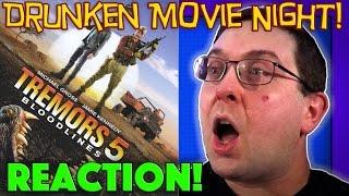 DRUNKEN MOVIE NIGHT! Tremors 5 - Solo REACTION!