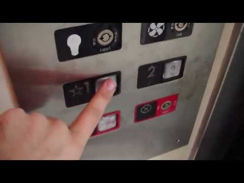 Vintage Otis Traction elevator The Nashville Arcade Nashville TN