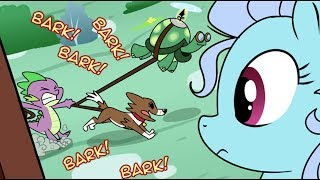 [MLP Comic Dub] Who Let The Dogs Out (comedy)