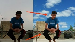 PicsArt tutorial-A special Colour Correction tips [And change background sky]
