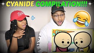 CYANIDE & HAPPINESS COMPILATION #19 REACTION!!!