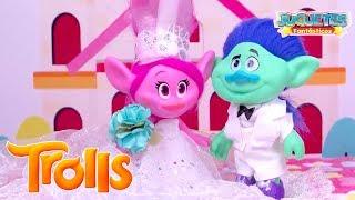 TROLLS: La Boda de POPPY y RAMON de la Película de Trolls! - Juguetes Fantásticos