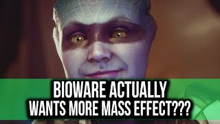 Bioware actually wants to make more MASS EFFECT games